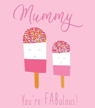 Mummy You're FABulous! - Birthday Card