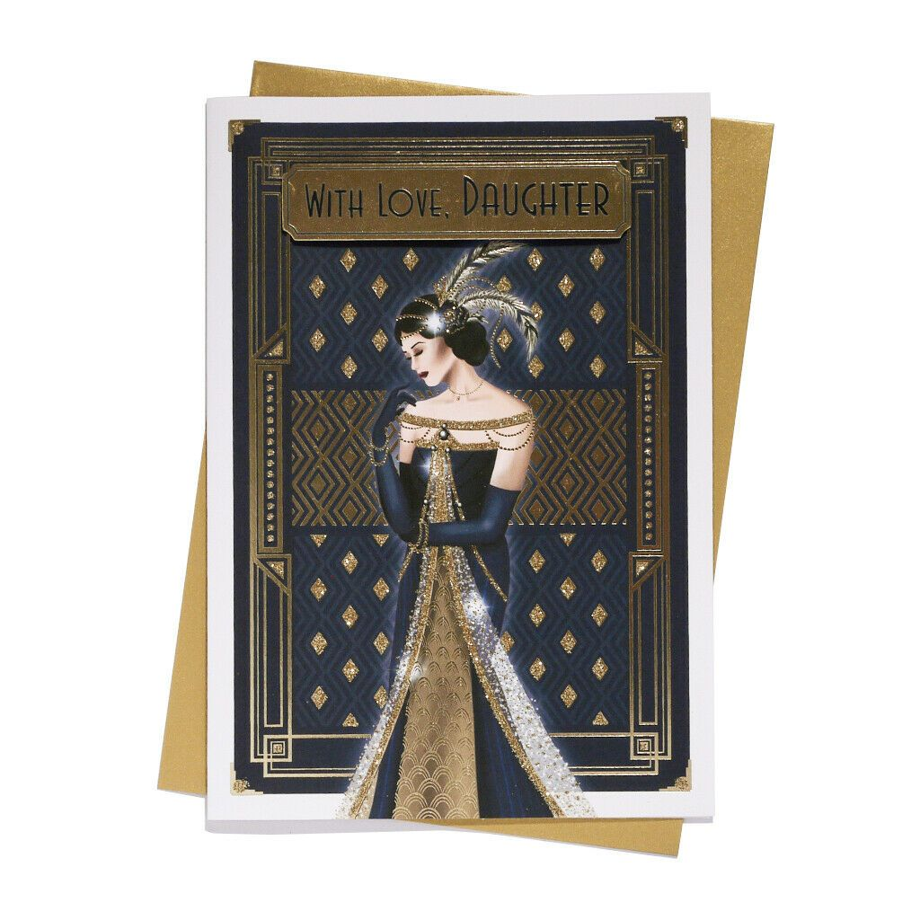With Love, Daughter - Art Deco