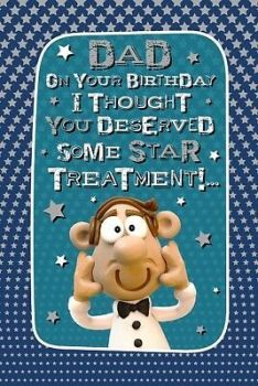 Dad On Your Birthday - Card
