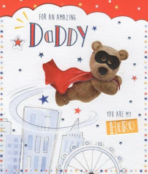 For An Amazing Daddy You Are My Hero! - Card