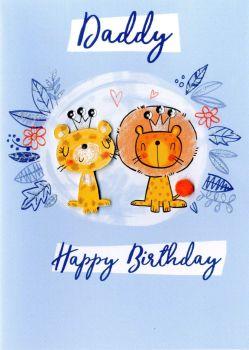 Daddy Happy Birthday - Card