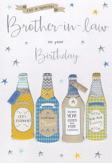 For A Special Brother-in-Law On Your Birthday