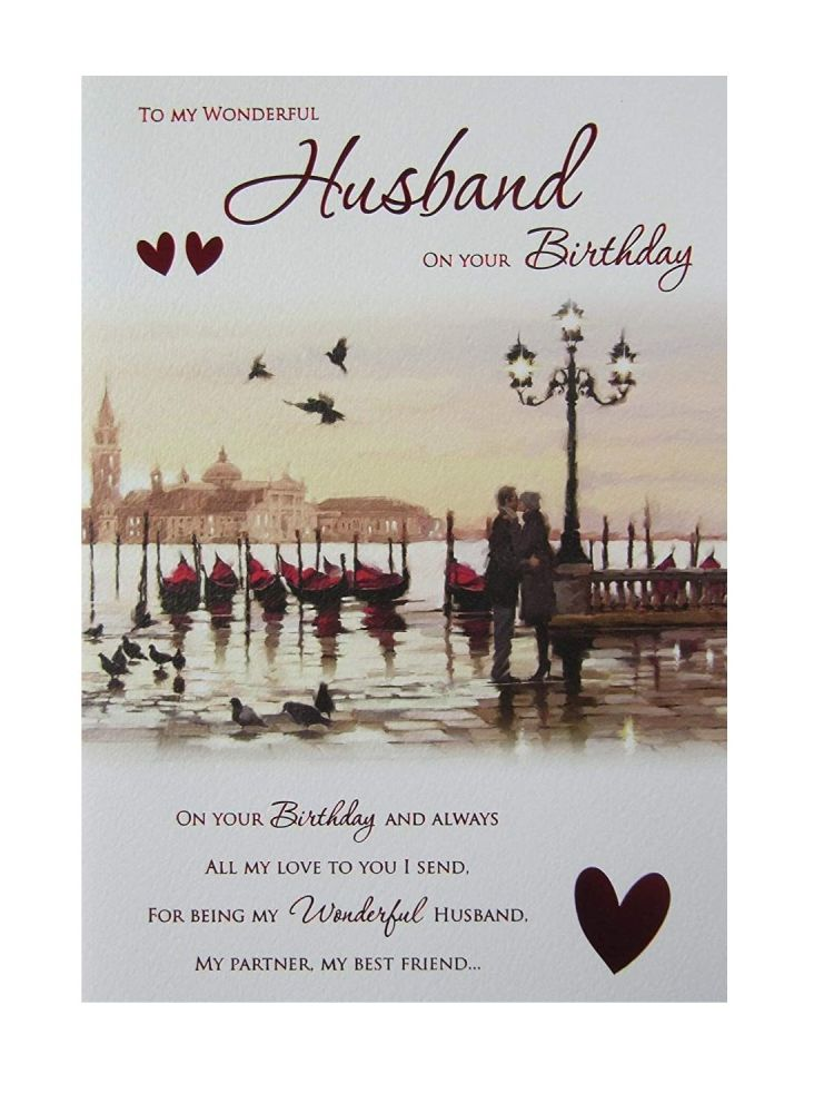 To A Wonderful Husband On Your Birthday
