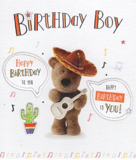Birthday Boy - Teddy