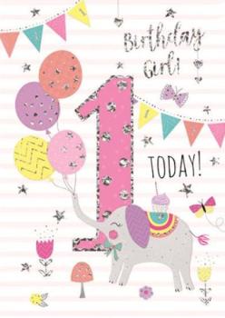 1 Today Birthday Girl! - Card