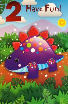 2 Have Fun! - Dino - Card