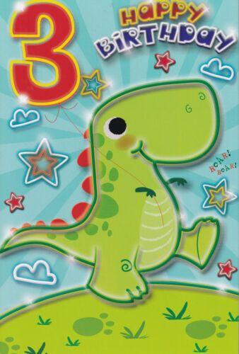 3 Happy Birthday - Dino