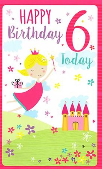 6 Today Happy Birthday - Fairy