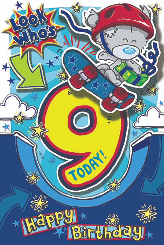 9 Today! Happy Birthday