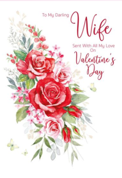 To My Darling Wife Sent With All My Love On Valentine's Day