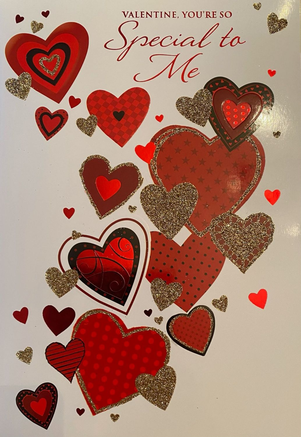 Valentine, You're So Special To Me - Card