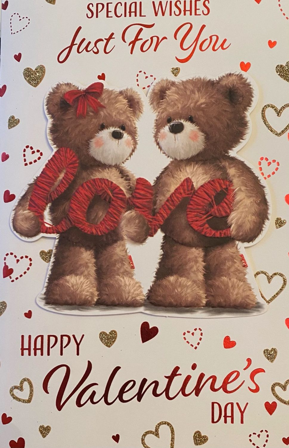 Special Wishes Just For You Happy Valentine's Day - Card