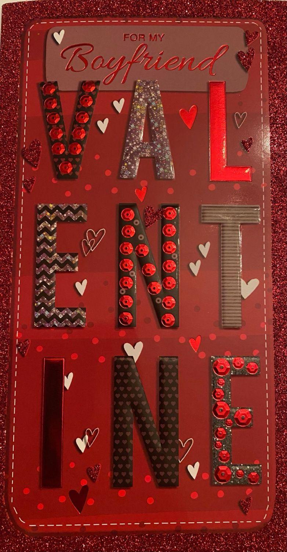 For My Boyfriend VALENTINE - Card