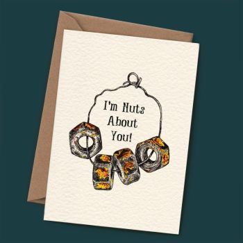 Nuts About You - Blank Card