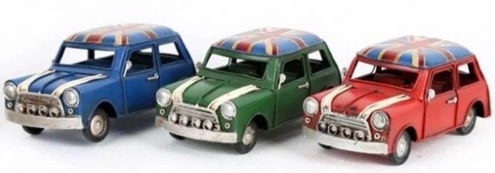 Tin Model Union Jack 16cm Mini