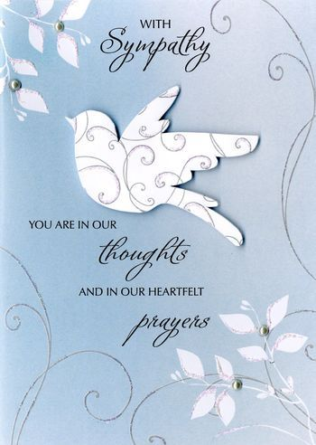 With Sympathy You Are In Our Thoughts - Card