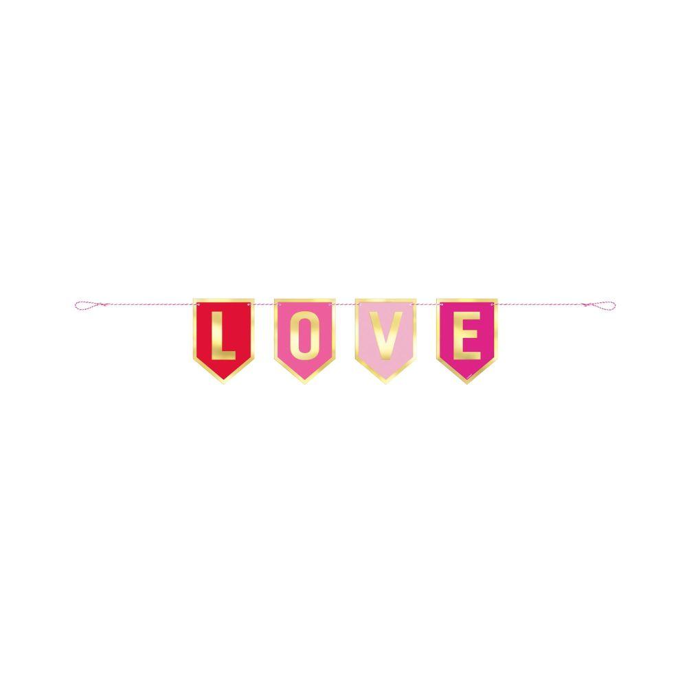 Love Pennant Banner 3ft