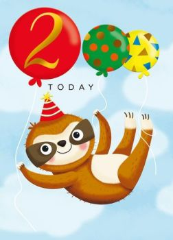 2 Today Sloth - Card