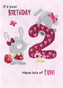It's your Birthday 2 Have lots of fun - Card