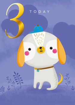 3 Today - Dog - Card
