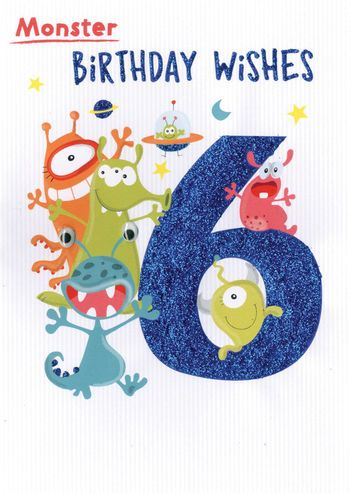 6 Today - Monsters - Card