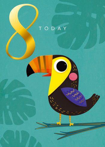 8 Today - Toucan - Card