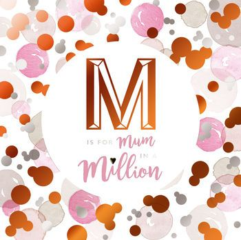 M is for Mum in a Million - Card