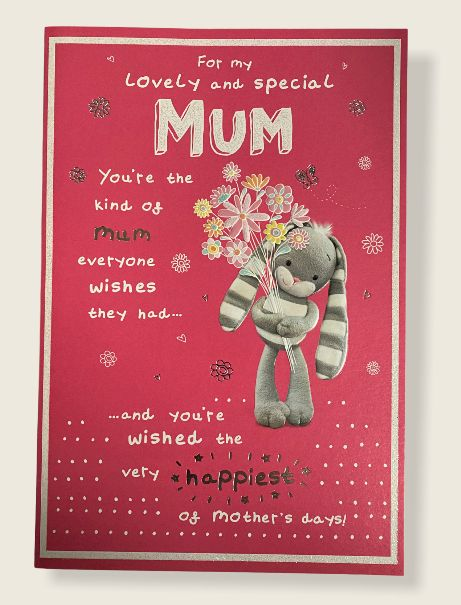 For My Lovely And Special Mum - Card