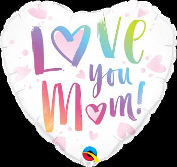 Love You Mum! Foil Balloon