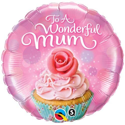 To A Wonderful Mum Foil Balloon