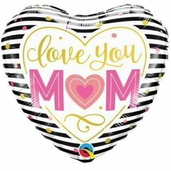 Love You Mum Foil Balloon