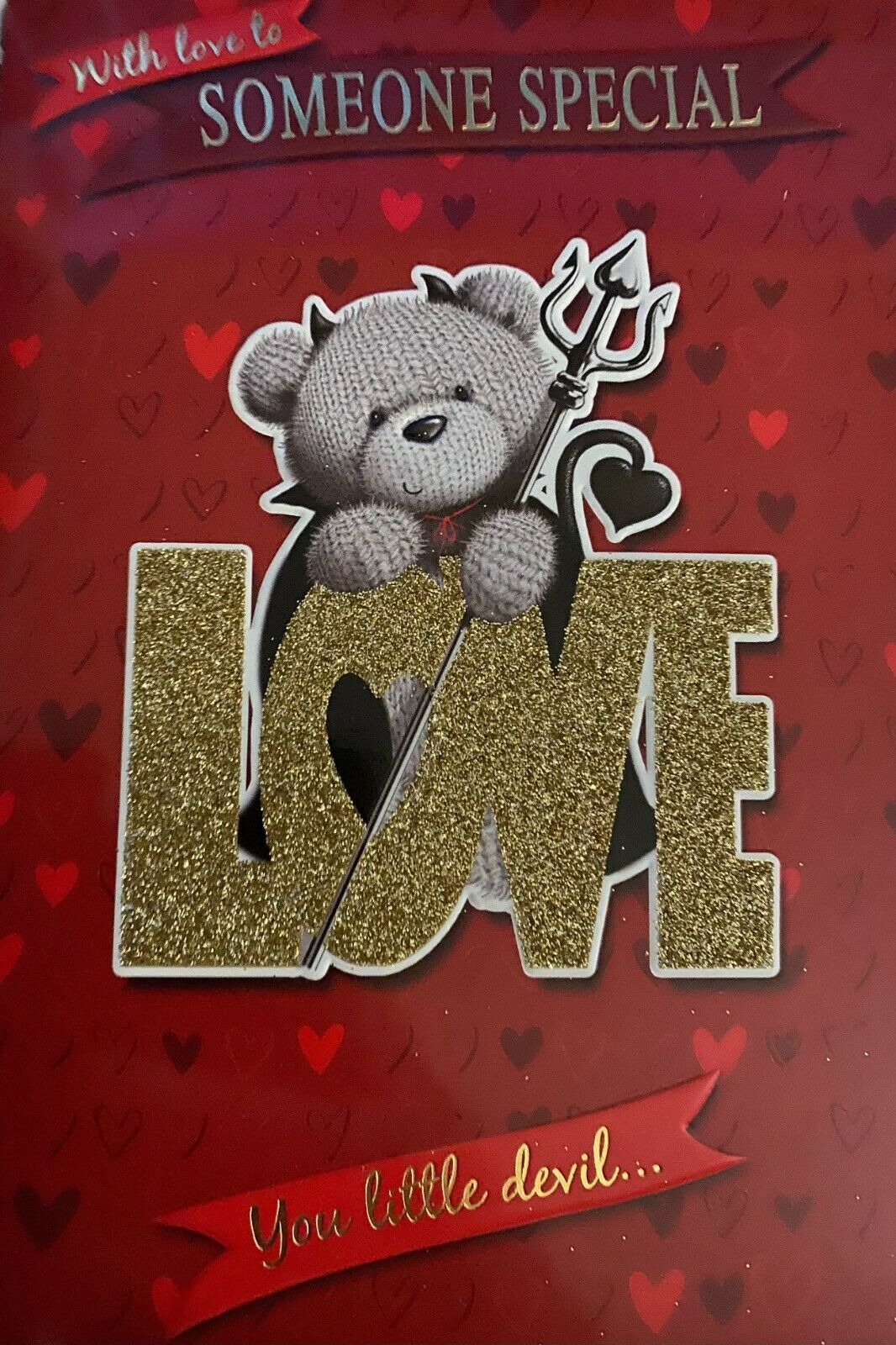 With Love To Someone Special You Little Devil..... Valentine's Day Card