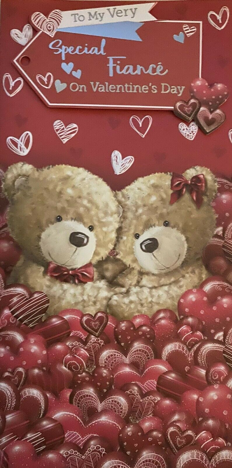 Valentine's Day Card To My Very Special Fiancé On Valentine's Day