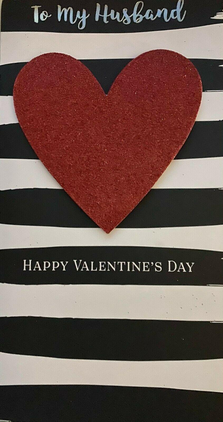 Valentine's Day Card To My Husband - Happy Valentine's Day