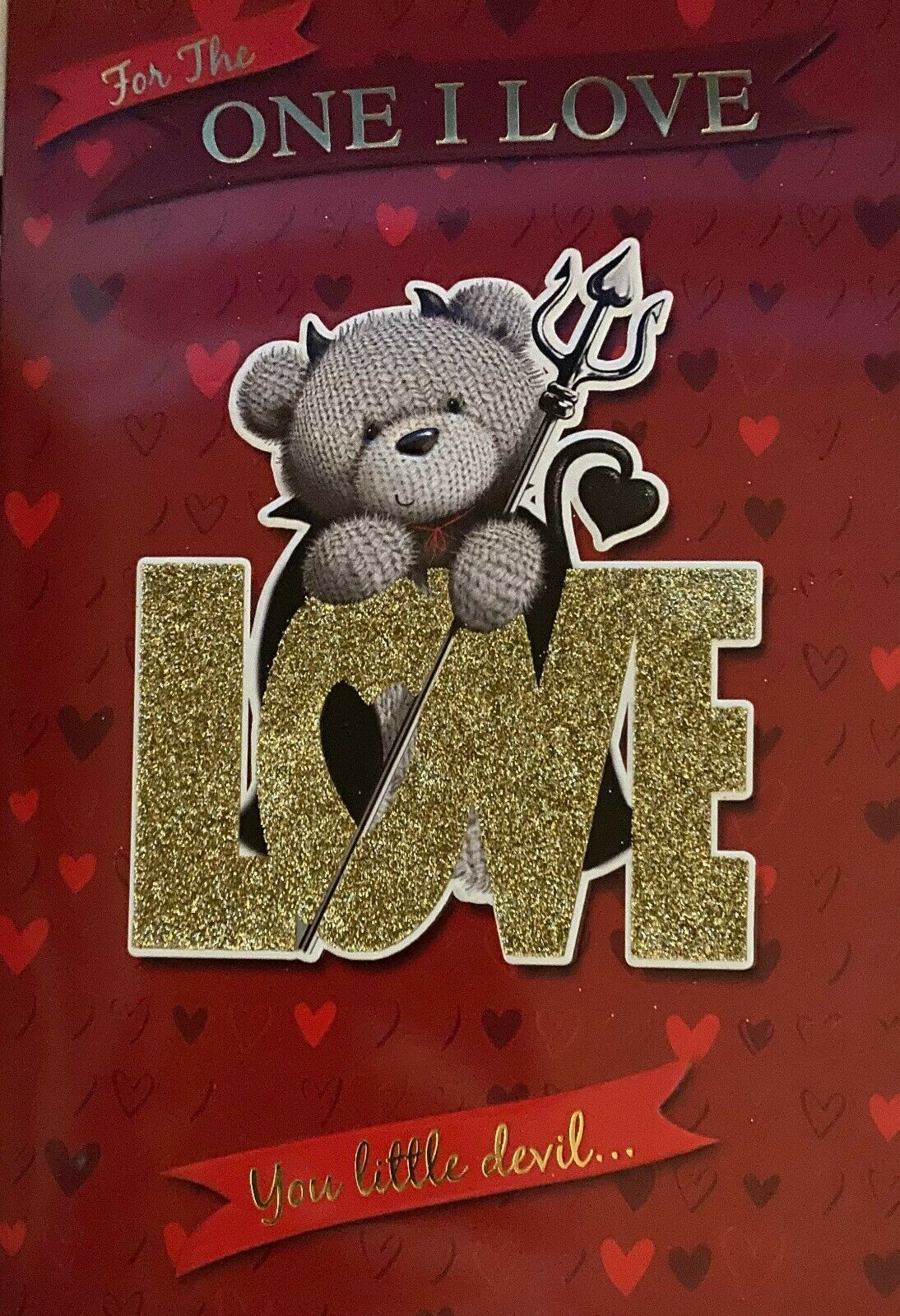 For The One I Love You Little Devil..... Valentine's Day Card