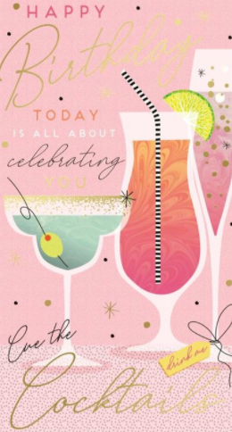 Happy Birthday Today Is All About Celebrating You Birthday - Card