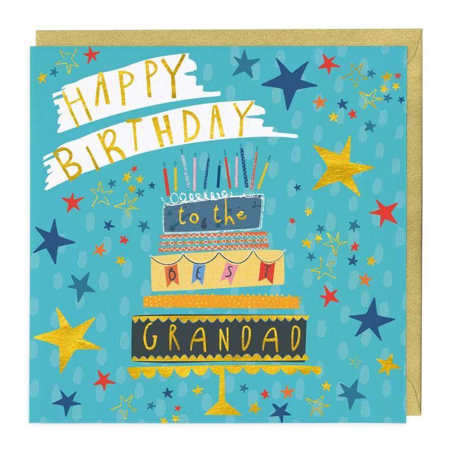 Best Grandad Happy Birthday Card