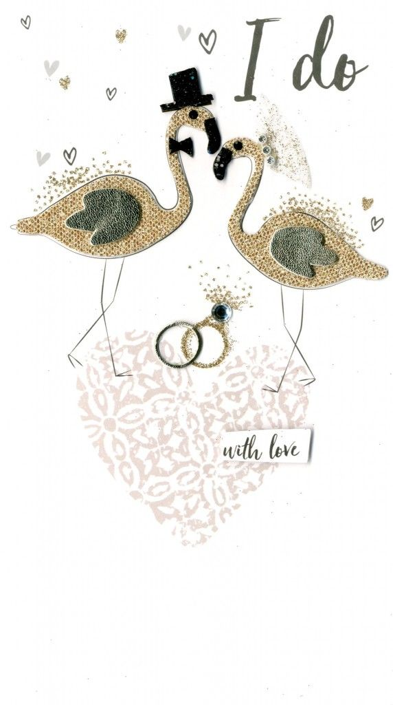 I Do With Love - Wedding Day Card