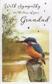 With Sympathy On The Loss Of Your Grandad - Card