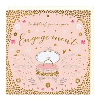 To Both Of You On Your Engagement - Card