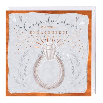 Congratulations On Your Engagement - Card