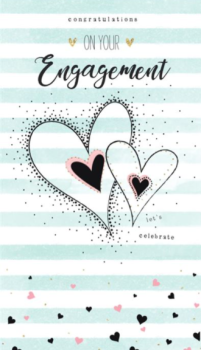 Congratulations On Your Engagement. Let's Celebrate - Card