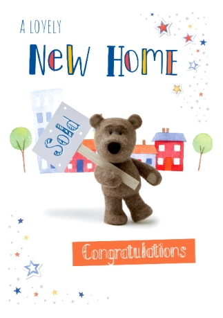 A Lovely New Home Congratulations - Card