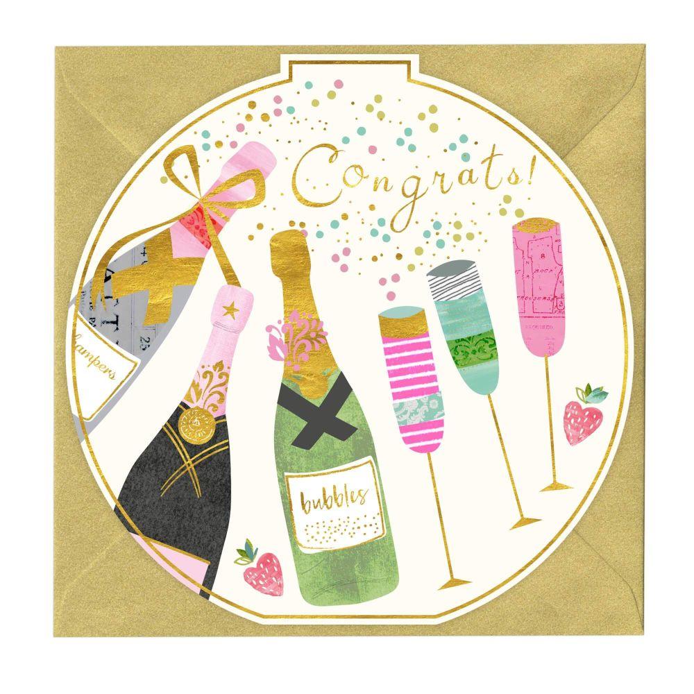 Congrats! Champagne - Card