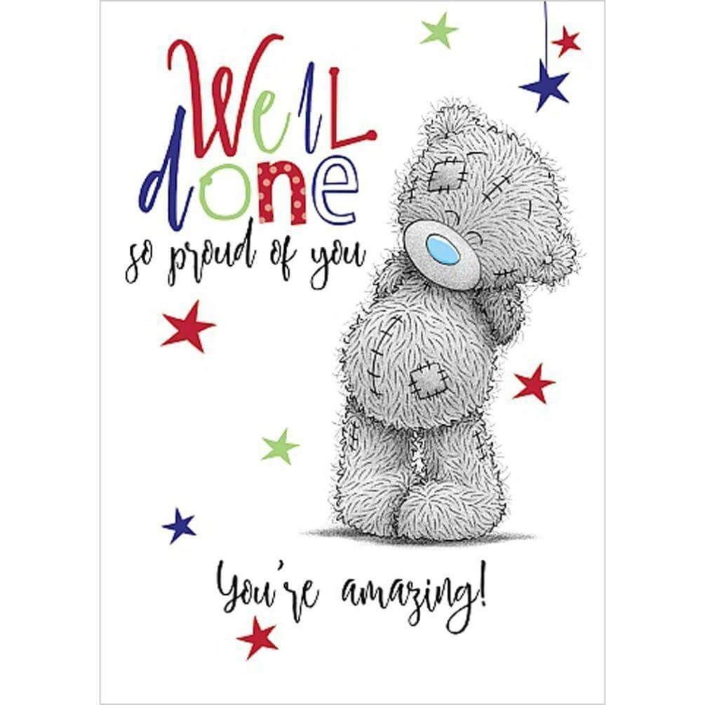 Well Done So Proud Of You - Tatty Teddy - Card