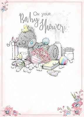 On Your Baby Shower Me To You - Card