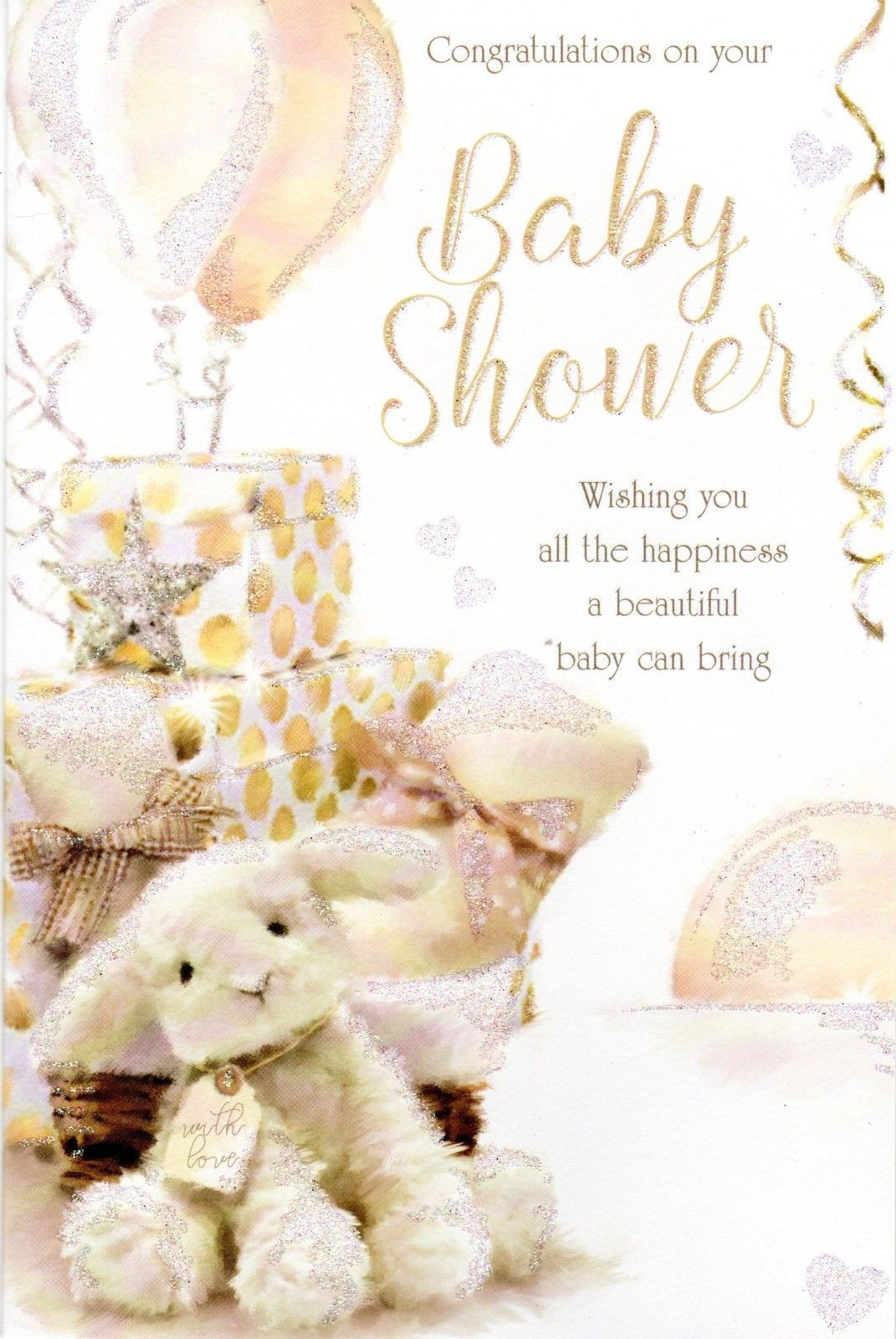 Congratulations On Your Baby Shower - Card