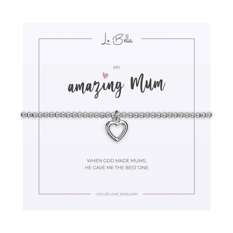 My Amazing Mum Charm Bracelet