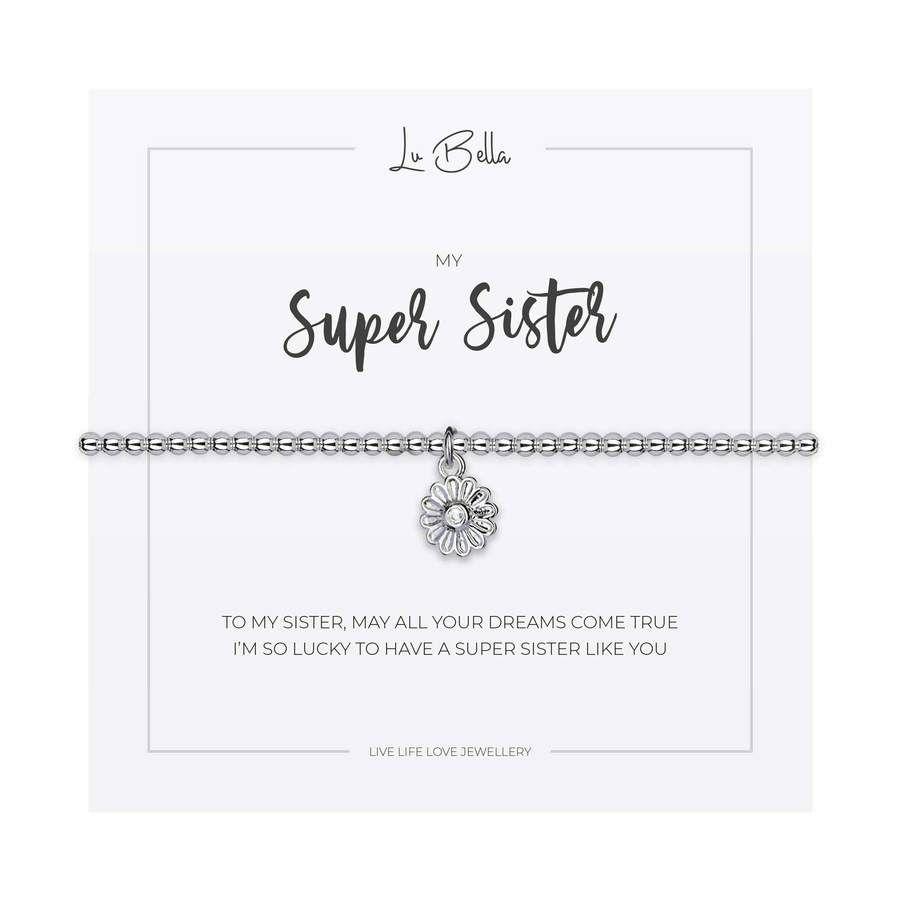 My Super Sister Charm Bracelet