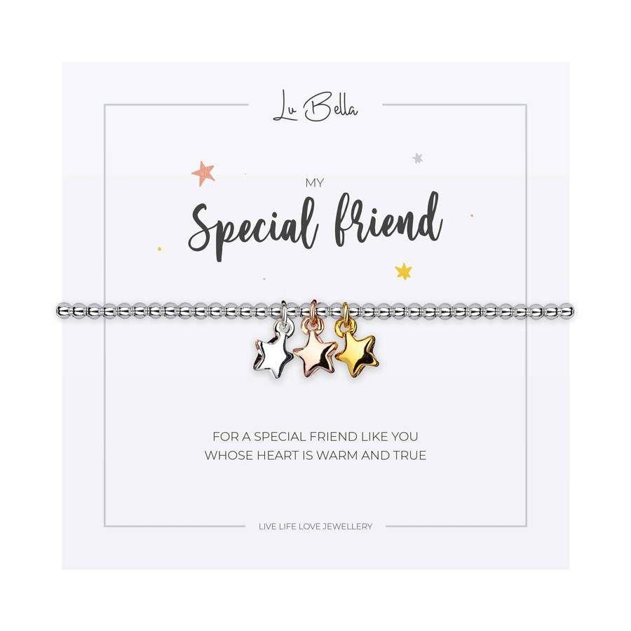 My Special Friend Charm Bracelet